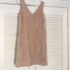 5439dce25ad5b LOFT Dresses | Maternity Crushed Velvet Swing Dress | Poshmark
